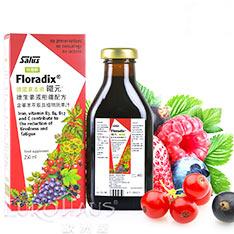歐洲屋 德國 Floradix鐵元 草本液250ml-好吸收植物二價鐵