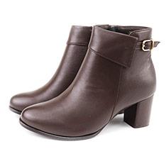 Sabon Greenpine簡約翻領造型短靴-沉穩