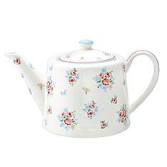 GREENGATE Nicoline white 茶壺