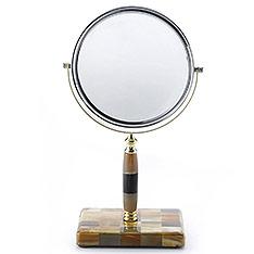 finara費納拉 自然奢華系列-黃牛角梳妝鏡