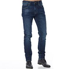 Lee (男)四面彈 705中腰舒適小直筒牛仔褲