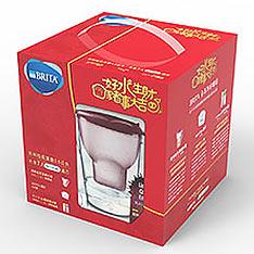 BRITA 馬利拉型濾水壺梅果粉3.5L+Mxplus P6濾心+Fill&GO Vita濾水瓶-紫色(共七蕊)