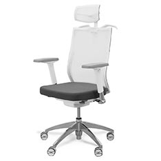 亞梭傢俬 CB-天絲椅(白)