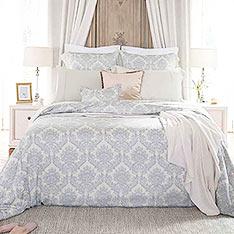 BBL 豐饒花境 100%天絲纖維.印花雙人四件式床包組+BBL Premium100%棉厚織緹花地墊