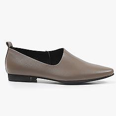 ALL BLACK Side Scoop II 平底鞋 (灰色)
