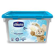 chicco 超濃縮嬰兒洗衣膠囊16入 買一送一