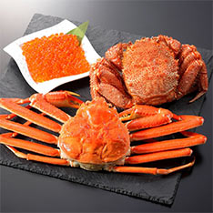 北海道限定 加藤水産 北海道蟹C set