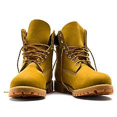 Timberland 男款經典 6吋 防水黃靴