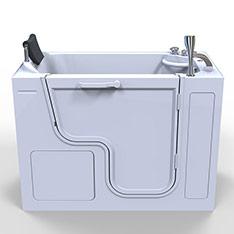 OASIS 美國開門式按摩浴缸-*130*66*95左外開門