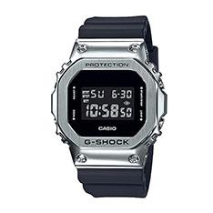 G-SHOCK 經典方形電子錶 (限量款) 銀 GM-5600-1DR