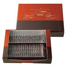 ROYCE' 醇巧克力 [委內瑞拉特濃黑巧克力&迦納甜味黑巧克力]40枚