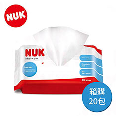 chicco NUK 濕紙巾80抽(20入)