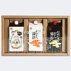 鎌田醬油3入禮盒