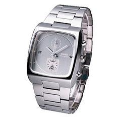 WIRED Tomoki 簡約方型腕錶