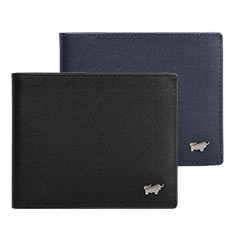 Braun Buffel HOMME-M系列5卡透明窗皮夾(共兩色)