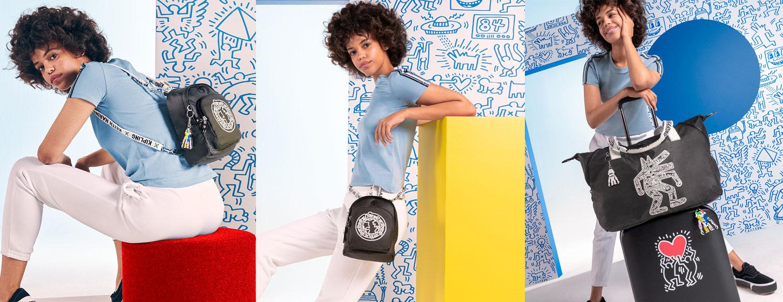 Kipling x Keith Haring 限量聯名系列