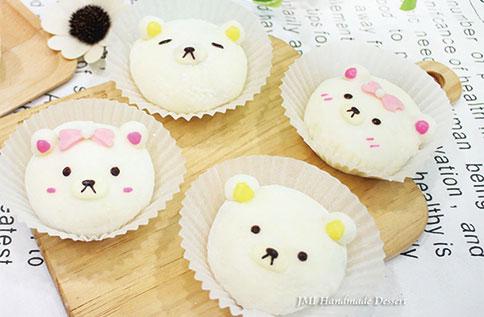 DIY親子水果熊熊大福