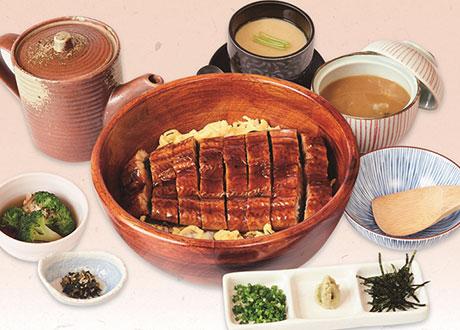 鰻魚三食膳