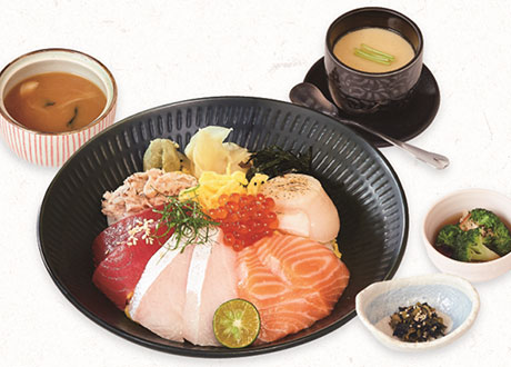 海鮮散壽司御膳