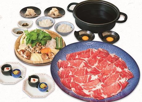 美國安格斯沙朗牛肉壽喜鍋(兩人份)