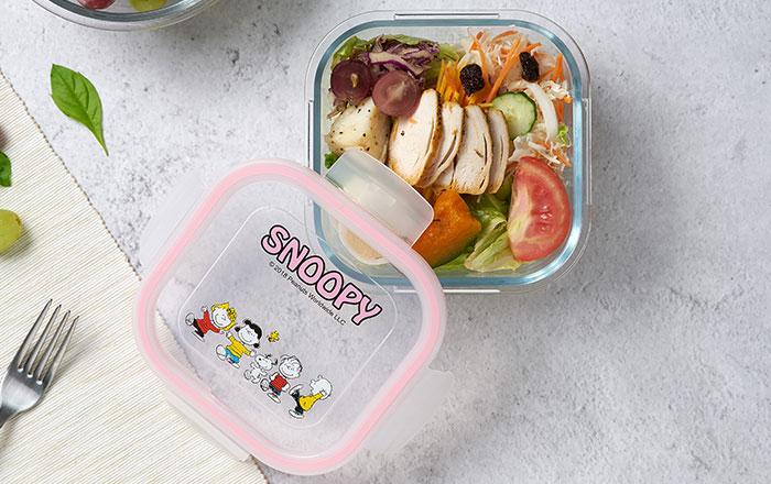 【週年慶來店禮】SNOOPY暖心食尚保鮮盒