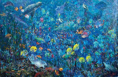 「當抽象遇上印象」胡寶莉 個人油畫創作發表首展