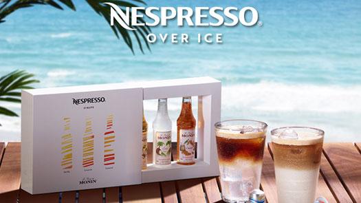 NESPRESSO 限量款冰咖啡 沁涼新登場