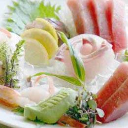 綜合生魚片3品
