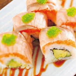 鮭魚酪梨壽司捲