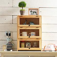 自然行原木咖啡櫥櫃
