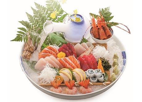 豪華生魚片