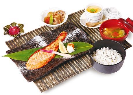 幽庵鮭魚燒御膳