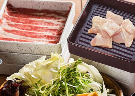 特選國產豬肉、國產舒康雞
