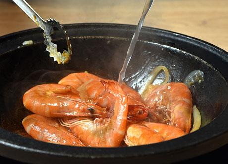 台灣味傳承爆炒系列 醬爆黃金蒜蝦鍋