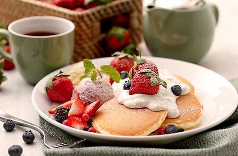 5F 杏桃鬆餅屋1-2月草莓季商品