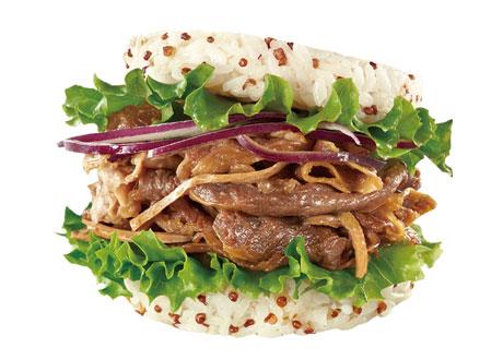 藜麥燒肉珍珠堡(牛)
