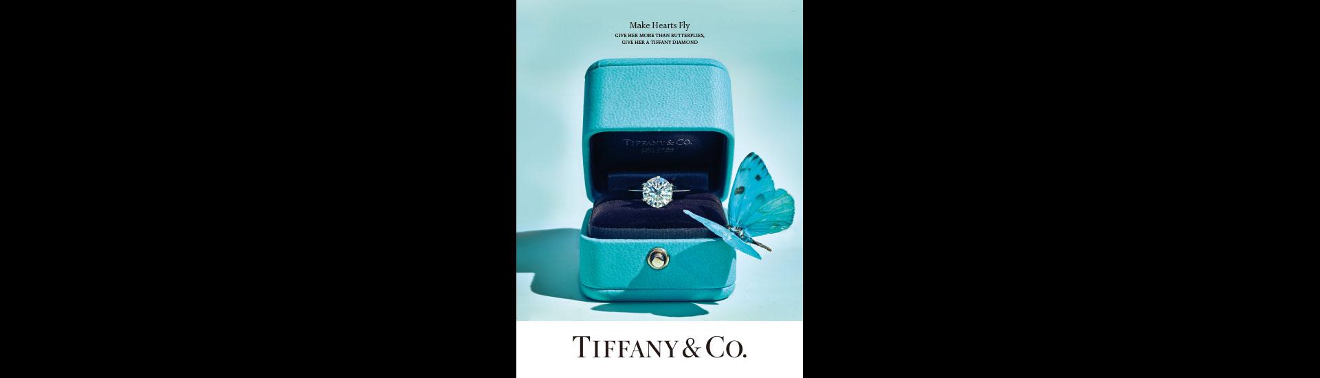 復興館2F Tiffany&Co.期間限定傳情站
