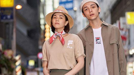 中壢店6F FILA早春力作「2020日潮攻略首部曲:TOKYO STREET ICON 」