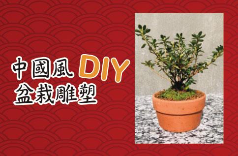 中國風 盆栽雕塑DIY(報名已額滿)