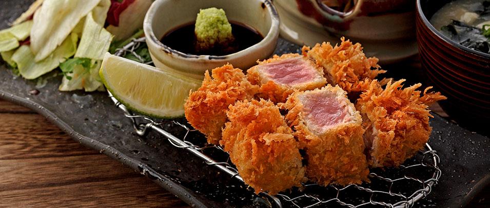 復興館10F 勝勢豬排 鮪魚季限定餐點