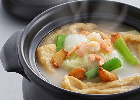 煲湯白菜燉軟豆腐