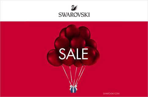 1F SWAROVSKI 年中折扣推廣活動