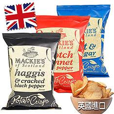 英國Mackie's 經典洋芋片15入