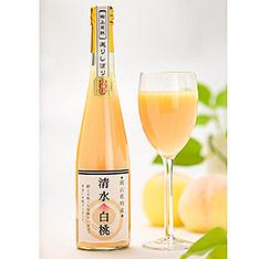 岡山縣 「翠果撰」清水白桃果汁
