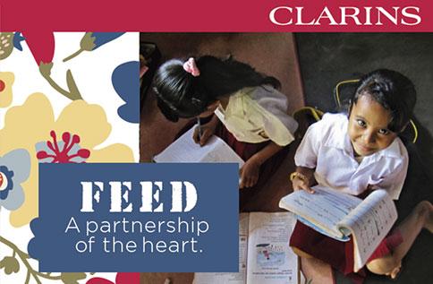 1F CLARINS X FEED 創造一大於三的感動