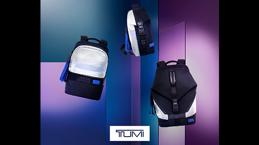 忠孝館7F TUMI 推出限定透明藍系列