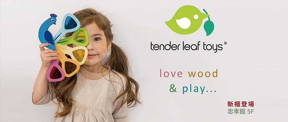 忠孝館5F Tender Leaf Toys 新櫃登場