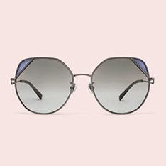 LA MODE 「PINK BY JILL STUART」眼鏡系列 - ALLISON -閃亮槍色/閃亮蓝色