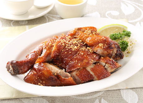 龍岡脆皮雞