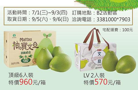 B2 麻豆區農會109年度【柚?寶】文旦預購活動